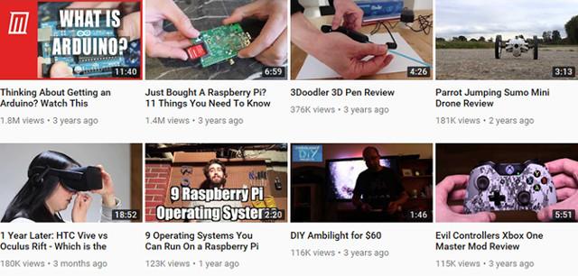 Động lực tạo kênh Youtube